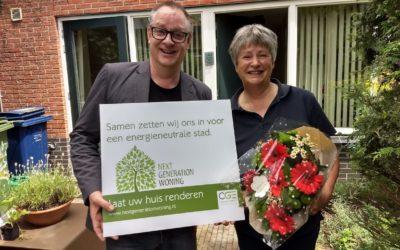 CGE feliciteert Ym de Roos met haar Next Generation Woning